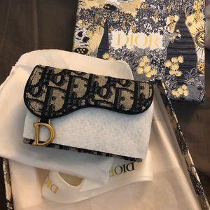 Dior Saddle Card Holder
